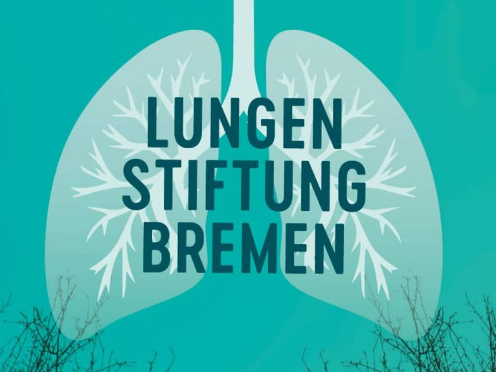 Das Logo der Lungenstiftung
