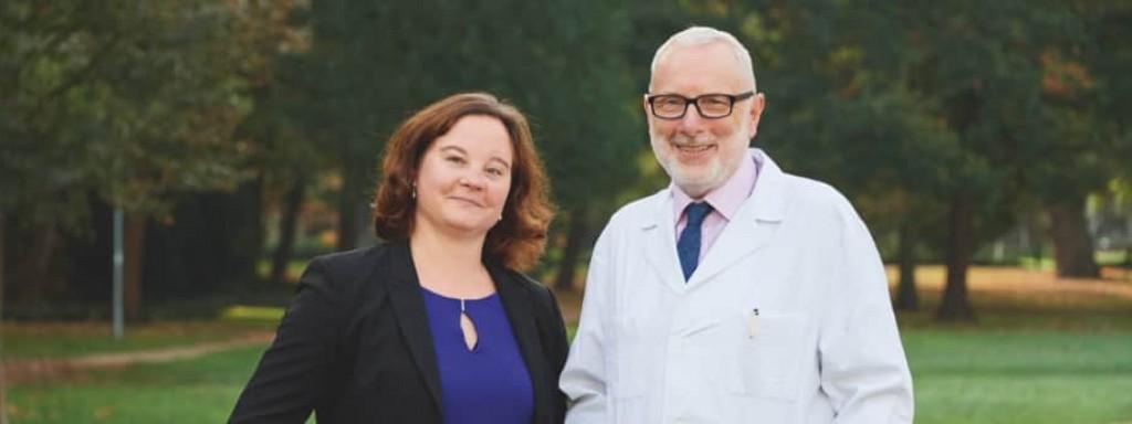 Portrait von Judith Borsch und Prof. Dr. Ukena